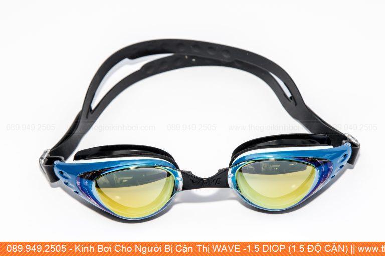 Kính Bơi Cho Người Bị Cận Thị WAVE -1.5 DIOP (1.5 ĐỘ CẬN)
