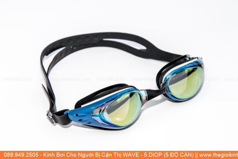 Kính Bơi Cho Người Bị Cận Thị WAVE - 5 DIOP (5 ĐỘ CẬN)